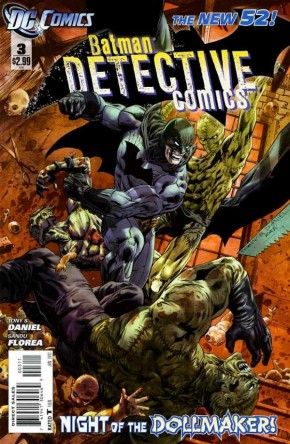 DETECTIVE COMICS #3 (2011 SERIES) 1ST PRINT