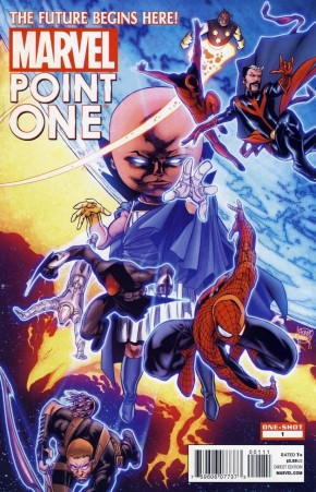 MARVEL POINT ONE #1 1st APPEARANCE OF SAM ALEXANDER (MODERN AGE RELEASED 2011)
