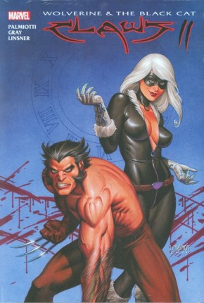 WOLVERINE AND BLACK CAT CLAWS 2 HARDCOVER