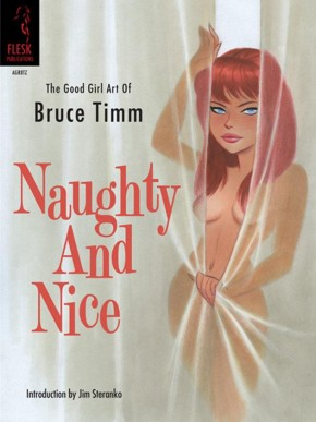 NAUGHTY AND NICE GOOD GIRL THE ART OF BRUCE TIMM GRAPHIC NOVEL (1ST PRINTING)