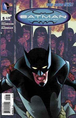 BATMAN INCORPORATED #5 VARIANT