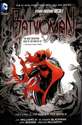 BATWOMAN VOLUME 2 TO DROWN THE WORLD HARDCOVER