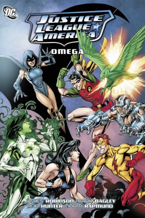 JUSTICE LEAGUE OF AMERICA OMEGA GRAPHIC NOVEL