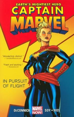 CAPTAIN MARVEL VOLUME 1 IN PURSUIT OF FLIGHT GRAPHIC NOVEL