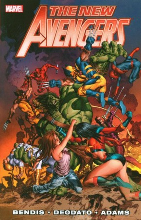 NEW AVENGERS BY BRIAN MICHAEL BENDIS VOLUME 3 GRAPHIC NOVEL