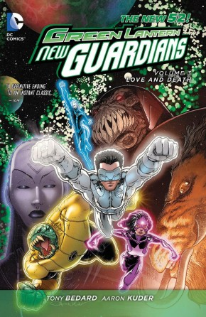GREEN LANTERN NEW GUARDIANS VOLUME 3 LOVE AND DEATH HARDCOVER