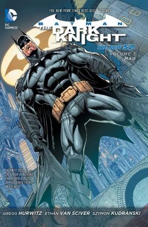 BATMAN THE DARK KNIGHT VOLUME 3 MAD HARDCOVER