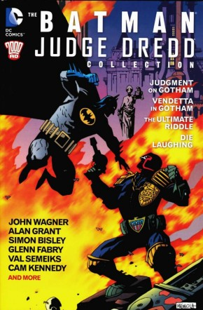 BATMAN JUDGE DREDD COLLECTION GRAPHIC NOVEL