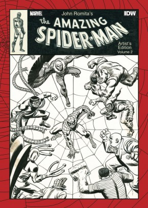 JOHN ROMITA AMAZING SPIDER-MAN VOLUME 2 ARTIST EDITION HARDCOVER