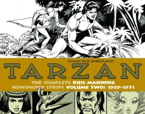TARZAN RUSS MANNING NEWSPAPER STRIPS VOLUME 2 HARDCOVER