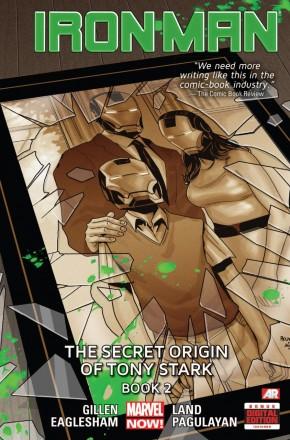 IRON MAN VOLUME 3 SECRET ORIGIN OF TONY STARK BOOK 2 HARDCOVER
