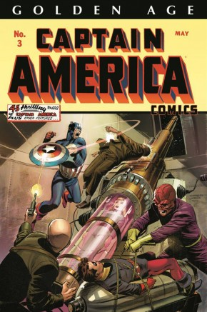 GOLDEN AGE CAPTAIN AMERICA OMNIBUS VOLUME 1 LEE WEEKS COVER HARDCOVER