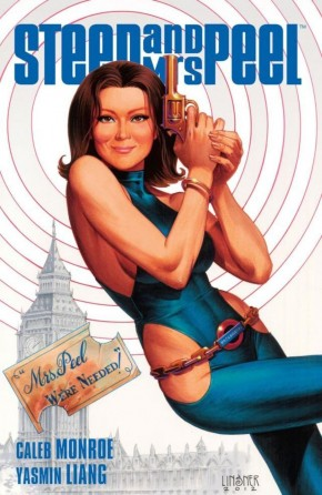 STEED AND MRS PEEL VOLUME 2 SECRET HISTORY OF SPACE GRAPHIC NOVEL