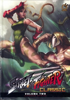 STREET FIGHTER CLASSIC VOLUME 2 CANNON STRIKE HARDCOVER