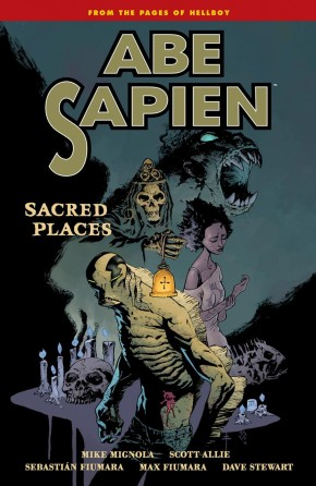 ABE SAPIEN VOLUME 5 SACRED PLACES GRAPHIC NOVEL