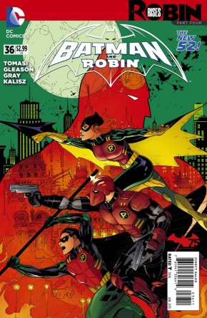 BATMAN AND ROBIN #36 (2011 SERIES)