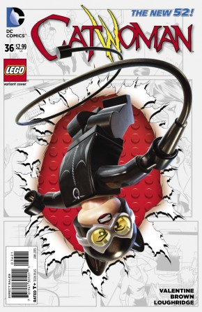 CATWOMAN #36 (2011 SERIES) LEGO VARIANT