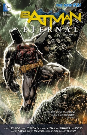 BATMAN ETERNAL VOLUME 1 GRAPHIC NOVEL
