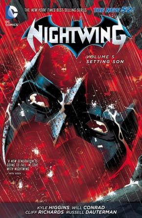 NIGHTWING VOLUME 5 SETTING SON GRAPHIC NOVEL