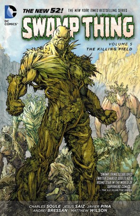 SWAMP THING VOLUME 5 THE KILLING FIELD GRAPHIC NOVEL