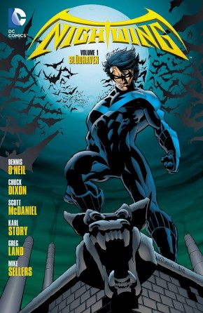 NIGHTWING VOLUME 1 BLUDHAVEN GRAPHIC NOVEL