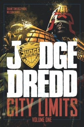 JUDGE DREDD CITY LIMITS GRAPHIC NOVEL