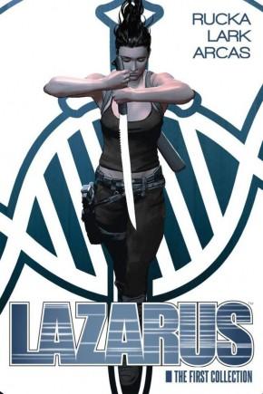 LAZARUS VOLUME 1 DELUXE EDITION HARDCOVER