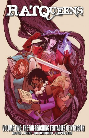 RAT QUEENS VOLUME 2 FAR REACHING TENTACLES OF NRYGOTH GRAPHIC NOVEL