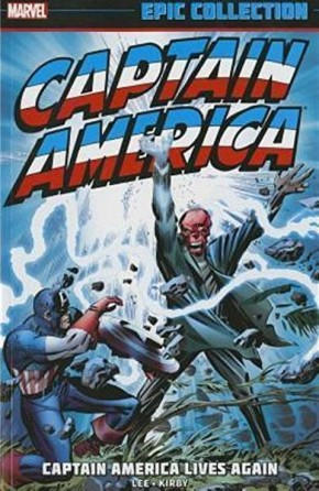 CAPTAIN AMERICA EPIC COLLECTION CAPTAIN AMERICA LIVES AGAIN GRAPHIC NOVEL