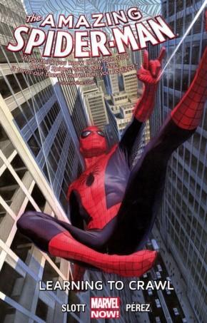 AMAZING SPIDER-MAN VOLUME 1.1 LEARNING TO CRAWL GRAPHIC NOVEL