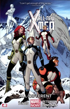 ALL NEW X-MEN VOLUME 4 ALL DIFFERENT GRAPHIC NOVEL