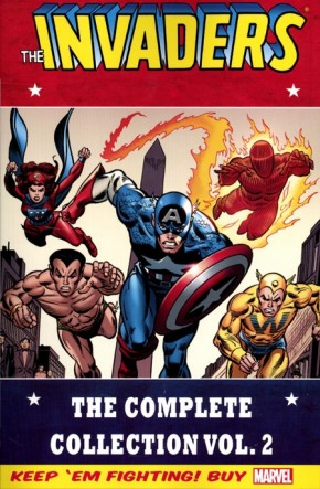 INVADERS CLASSIC COMPLETE COLLECTION VOLUME 2 GRAPHIC NOVEL