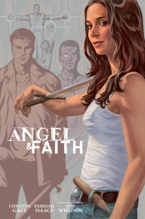 ANGEL AND FAITH SEASON 9 VOLUME 3 LIBRARY EDITION HARDCOVER