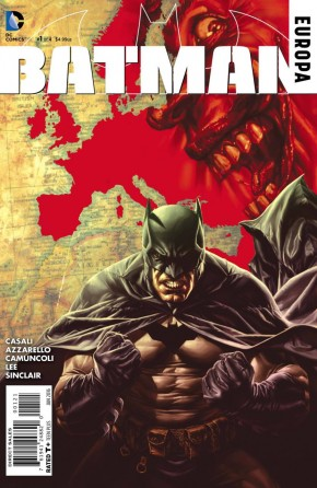 BATMAN EUROPA #1 (1 in 25 Incentive Variant Cover)