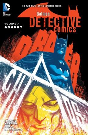 BATMAN DETECTIVE COMICS VOLUME 7 ANARKY HARDCOVER