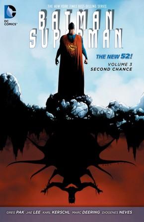 BATMAN SUPERMAN VOLUME 3 SECOND CHANCE GRAPHIC NOVEL
