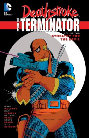 DEATHSTROKE THE TERMINATOR VOLUME 2 SYMPATHY FOR THE DEVIL GRAPHIC NOVEL