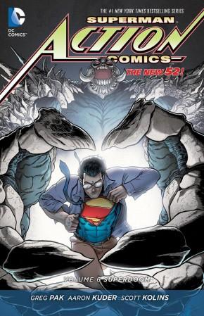 SUPERMAN ACTION COMICS VOLUME 6 SUPERDOOM HARDCOVER