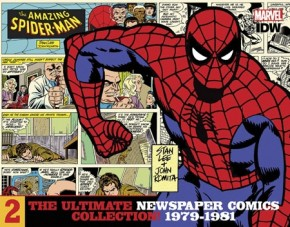 AMAZING SPIDER-MAN ULTIMATE NEWSPAPER COMICS COLLECTION VOLUME 2 1979-1981 HARDCOVER