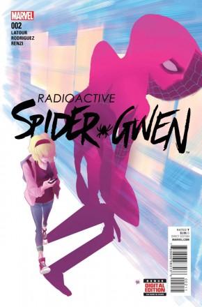 SPIDER-GWEN #2 (2015b SERIES)