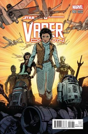 STAR WARS VADER DOWN #1 JOELLE JONES 1 IN 25 INCENTIVE VARIANT COVER