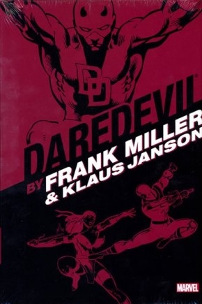 DAREDEVIL BY FRANK MILLER AND KLAUS JANSON OMNIBUS HARDCOVER