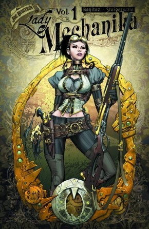 LADY MECHANIKA VOLUME 1  MYSTERY OF THE MECHANICAL CORPSE GRAPHIC NOVEL