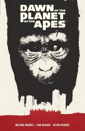 DAWN OF THE PLANET OF THE APES VOLUME 1 GRAPHIC NOVEL