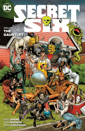 SECRET SIX VOLUME 2 THE GAUNTLET GRAPHIC NOVEL