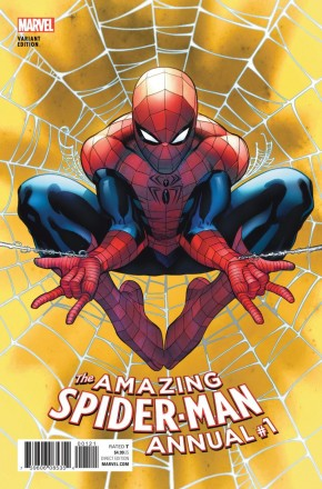 AMAZING SPIDER-MAN ANNUAL #1 (2015 SERIES) MCGUINNESS VARIANT