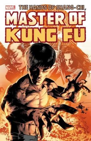 SHANG-CHI MASTER OF KUNG FU OMNIBUS VOLUME 3 HARDCOVER