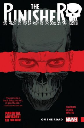 PUNISHER VOLUME 1 ON THE ROAD GRAPHIC NOVEL