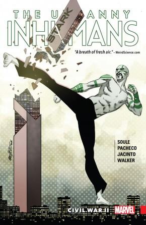UNCANNY INHUMANS VOLUME 3 CIVIL WAR II GRAPHIC NOVEL