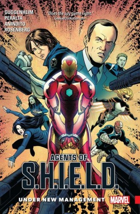 AGENTS OF SHIELD VOLUME 2 UNDER NEW MANAGEMENT GRAPHIC NOVEL